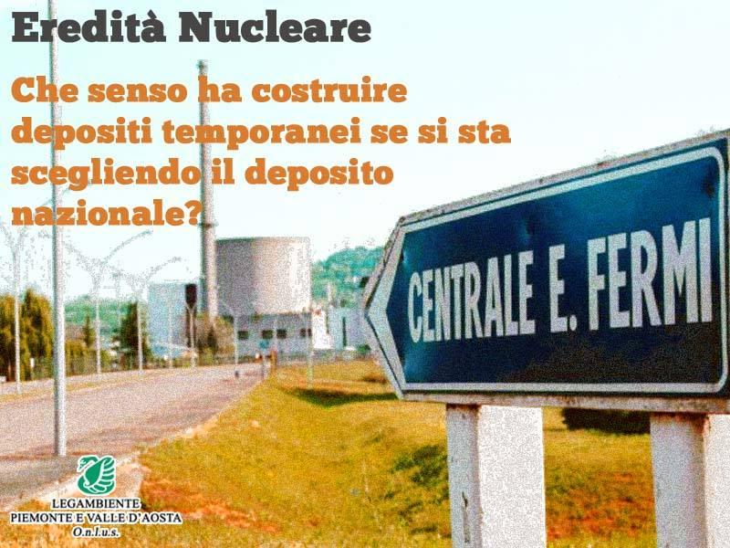 Eredità nucleare, mozione per accelerare le operazioni di decommissioning