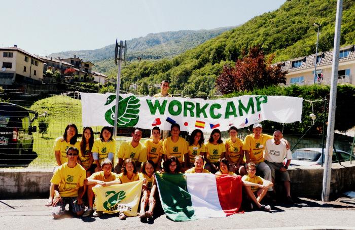 Al via in Piemonte i campi di volontariato di Legambiente