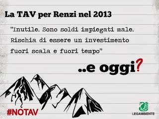 """Legambiente: """"Al Piemonte non servono inutili passeggiate nel fortino di Chiomonte. Che fine ha fatto il Renzi No Tav?"""""""