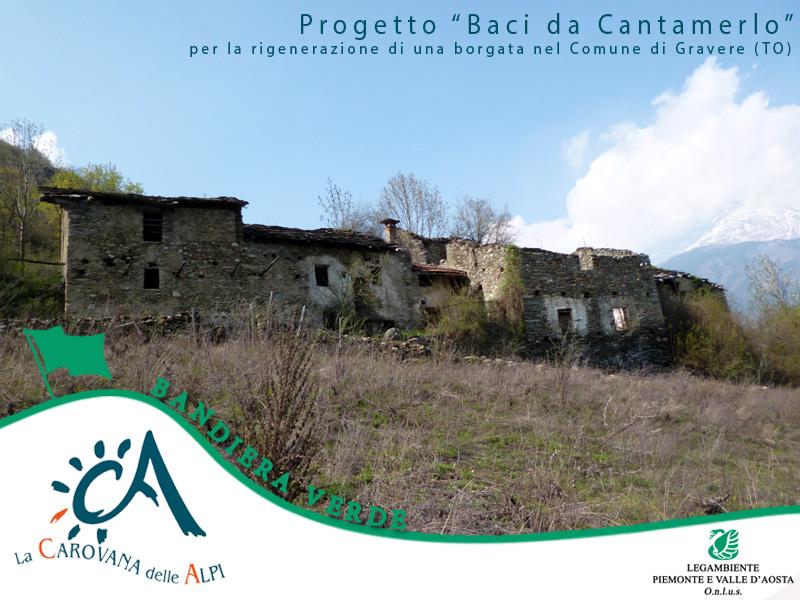 """Bandiera Verde 2014 - Progetto """"Baci da Cantamerlo"""""""