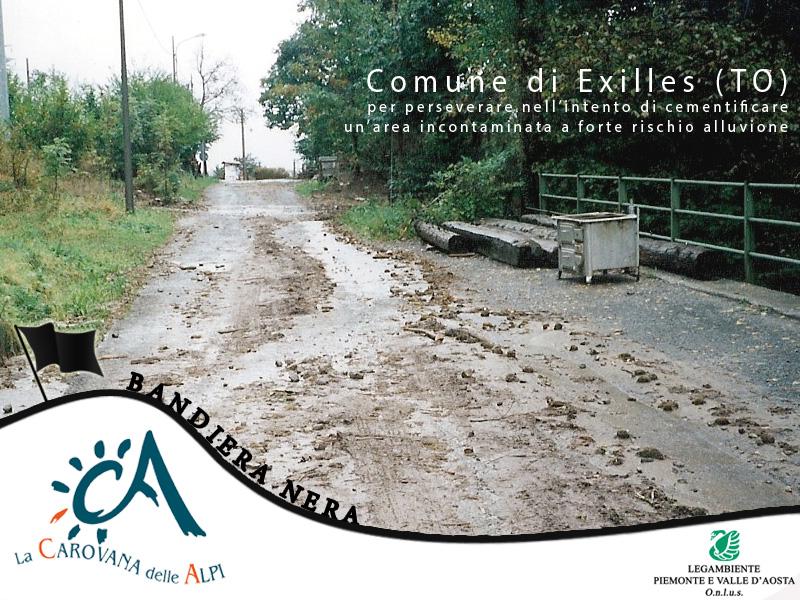 Bandiera nera 2014 - Comune di Exilles (TO)