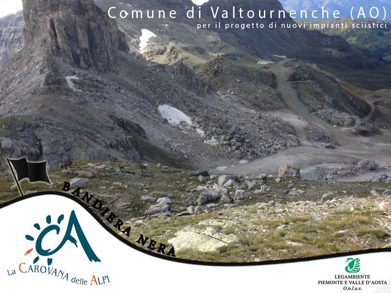 Bandiera nera 2014 - Comune di Valtournenche (AO)
