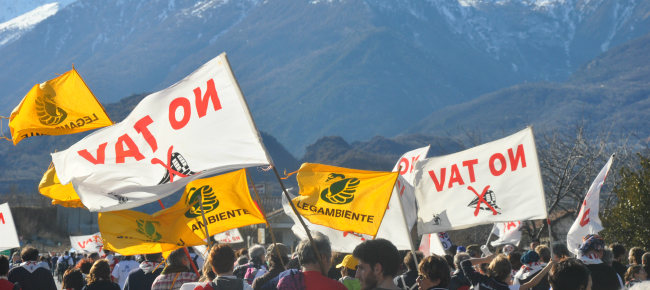 21 febbraio No Tav, invito alla mobilitazione