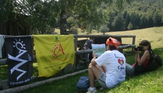Le iniziative di Carovana delle Alpi 2017