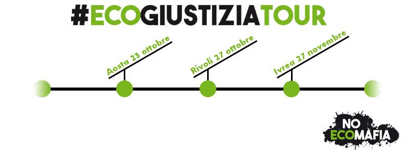 Prosegue l'#ecogiustiziatour di Legambiente