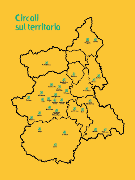 Circoli sul territorio