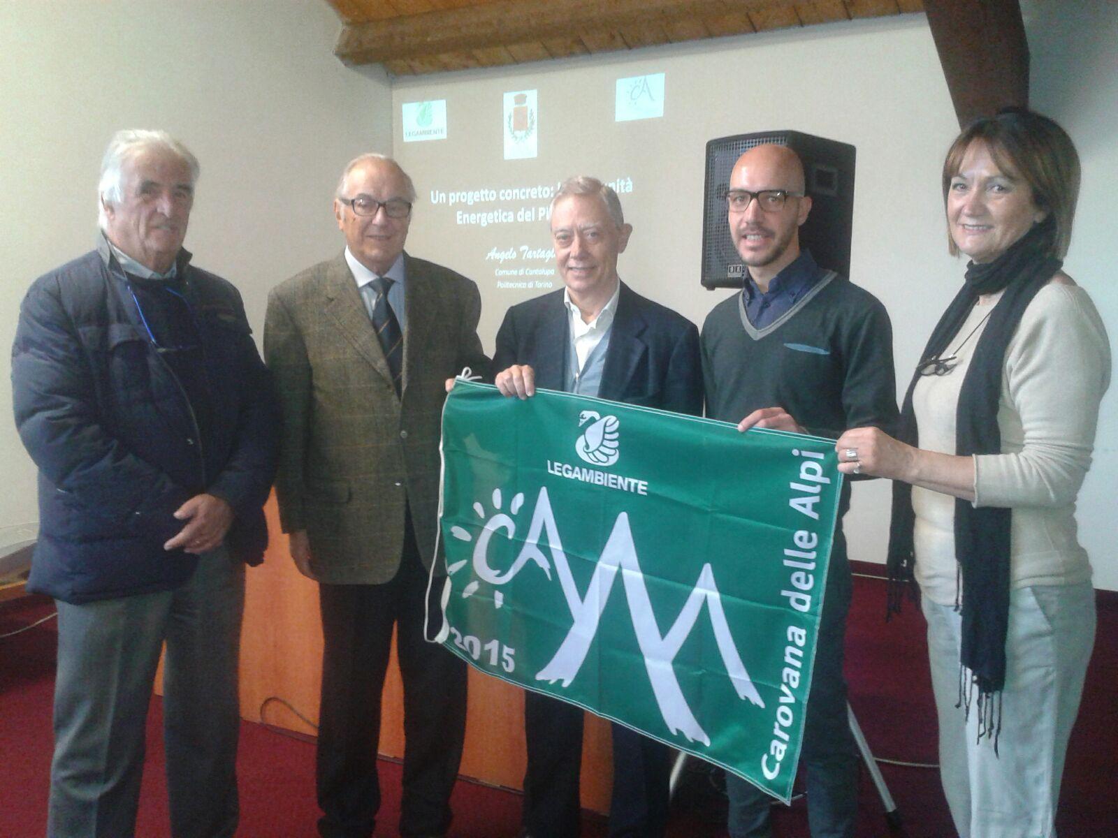 Bandiera Verde al progetto di Comunità Energetiche del Pinerolese