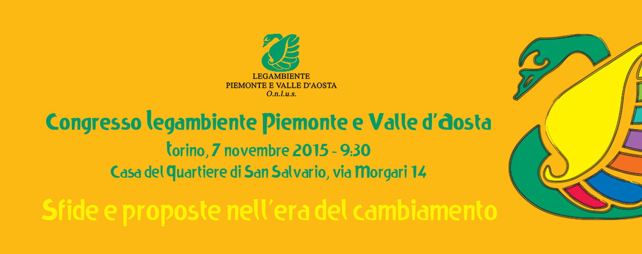 Dopo il congresso: le priorità di Legambiente Piemonte e Valle d'Aosta per i prossimi 4 anni
