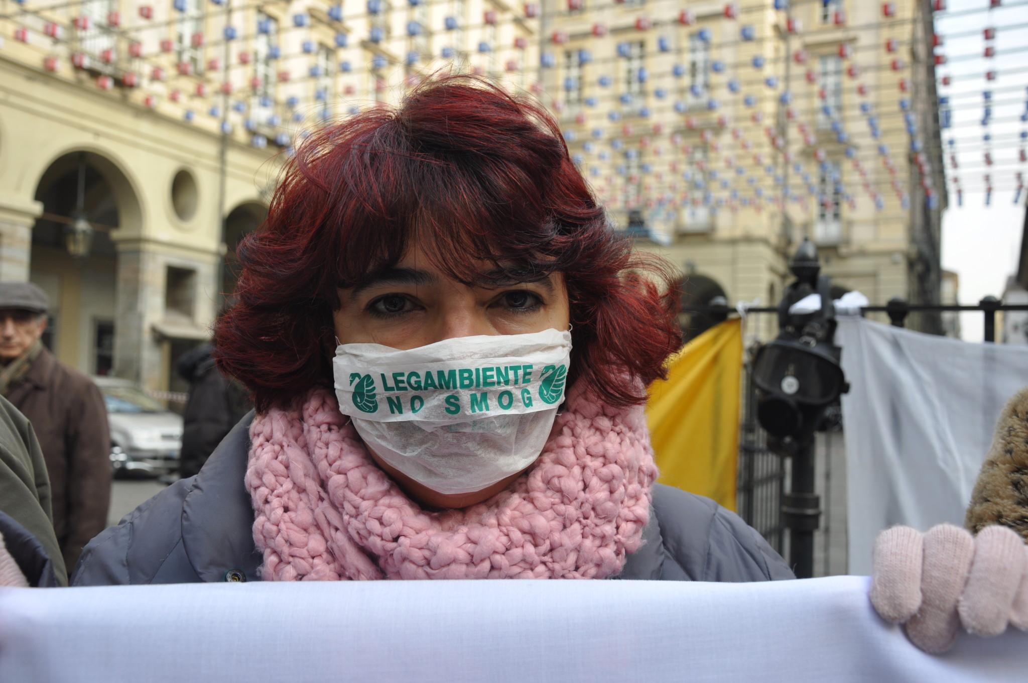 """Smog, Legambiente: """"Dalla Regione Piemonte un silenzio vergognoso"""""""