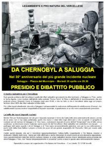 Da Cernobyl a Saluggia