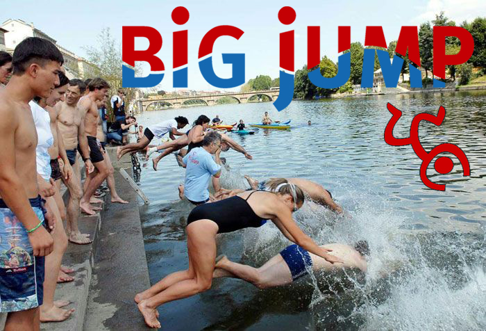 Big Jump, domenica 8 luglio torna il tuffo-denuncia in quattro fiumi del Piemonte