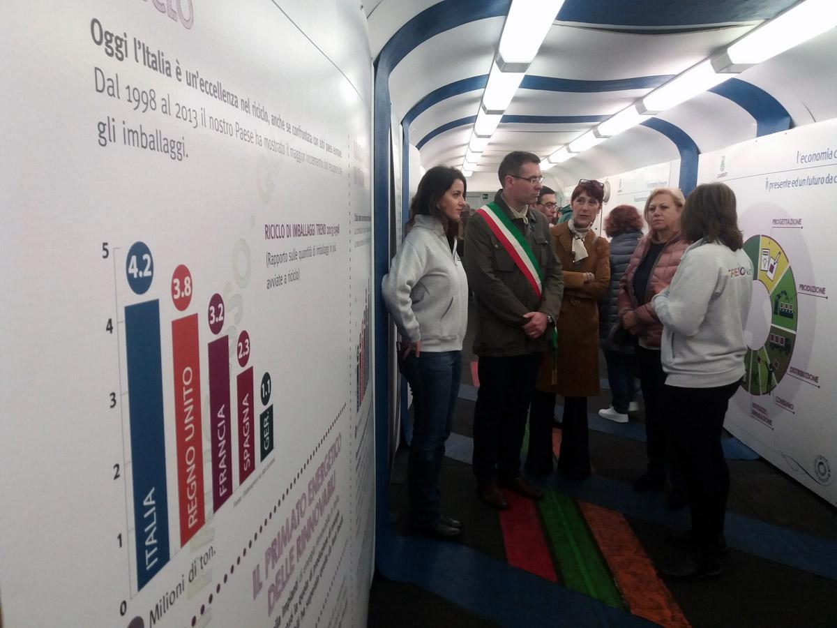 Il Treno Verde ad Asti: mostra, focus e iniziative per parlare di economia circolare, mobilità e inquinamento