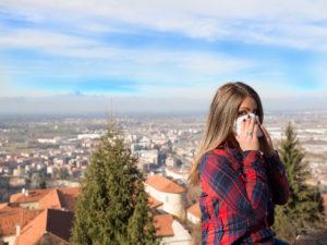 Tentativi di smog - Luogo dello scatto: Piazza, Mondovì (CN) - Autore: Samuele Silva