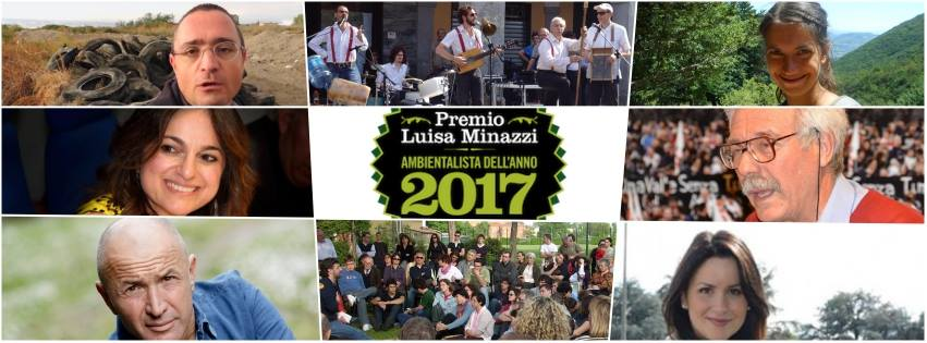 Ultimi giorni per votare l'Ambientalista dell'Anno 2017