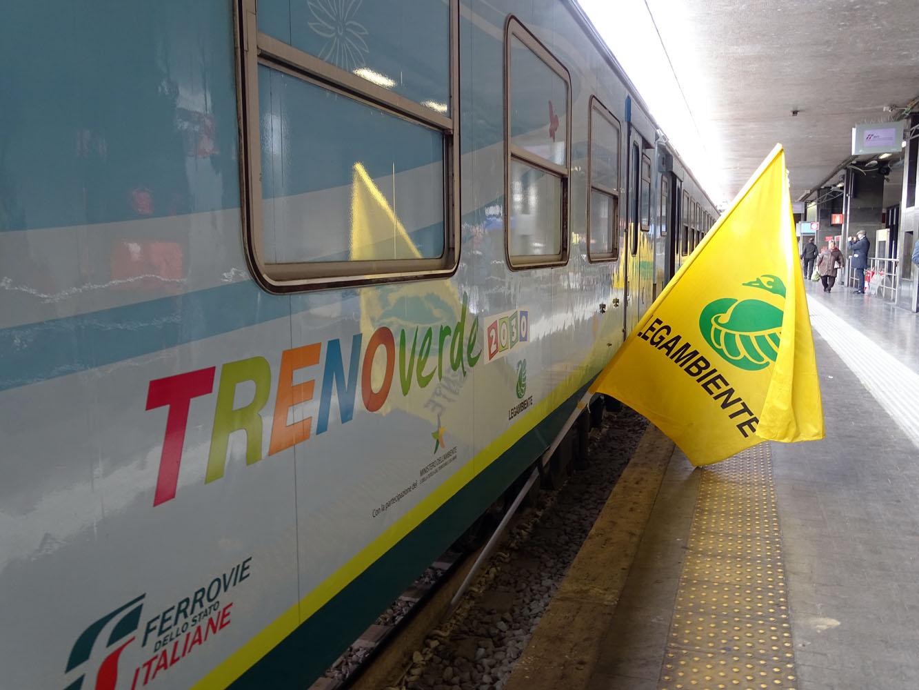 Tappa a Vercelli per il Treno Verde