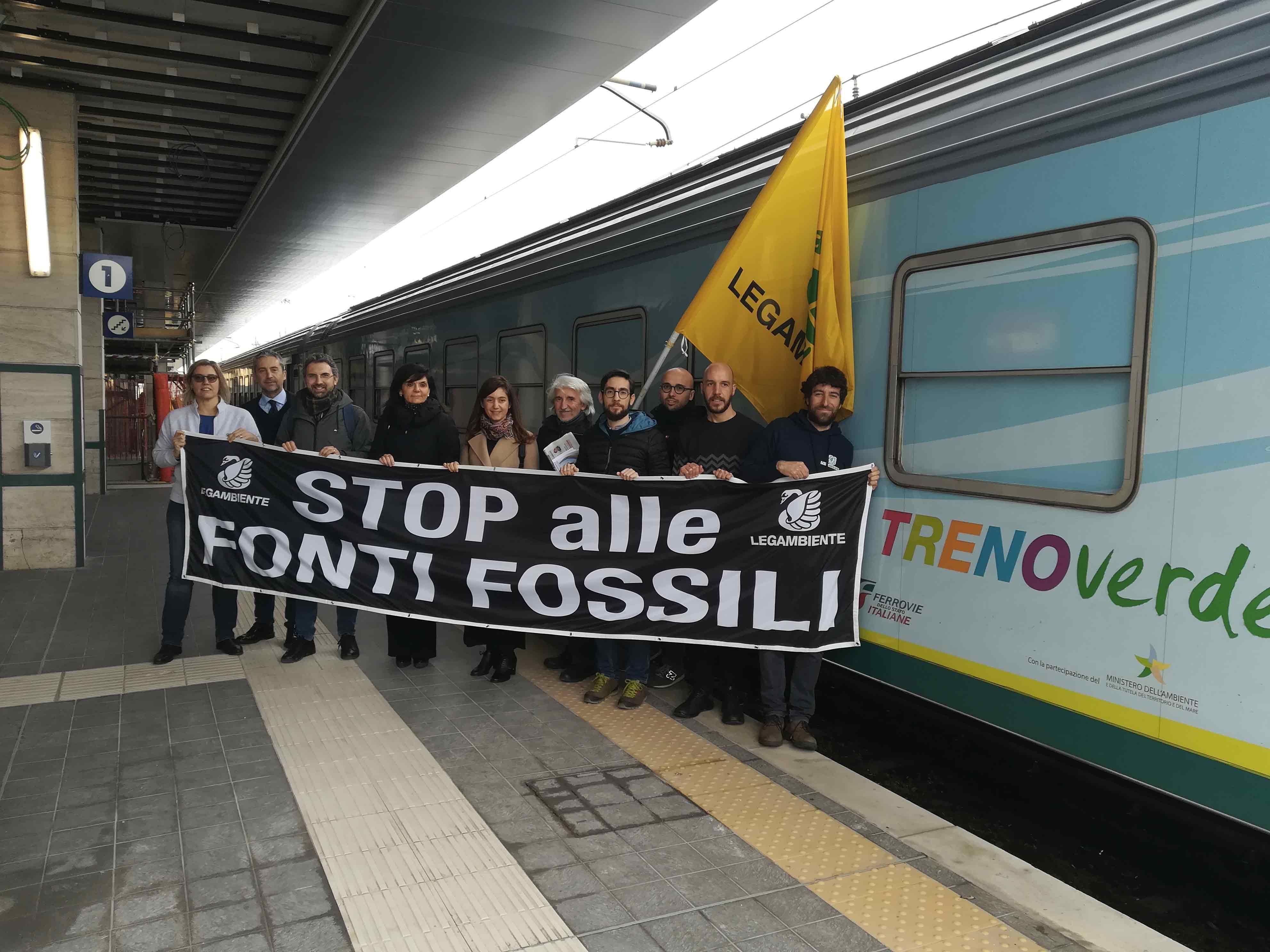A bordo del Treno Verde presentato il rapportoComuni Rinnovabili